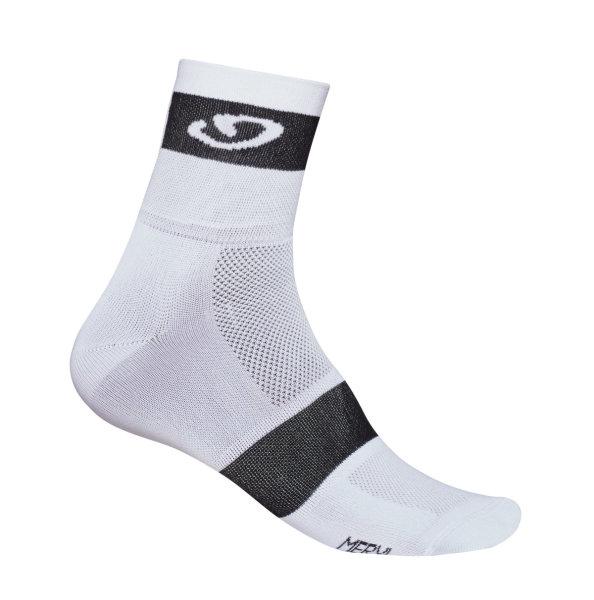 Giro Classic Racer Socken weiß-schwarz