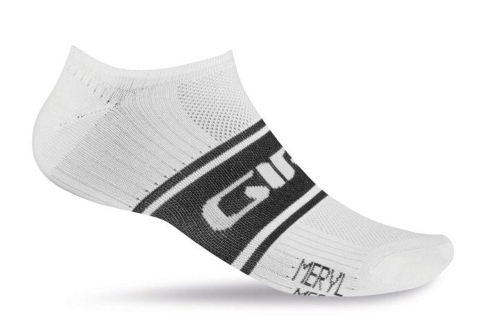 Giro Classic Racer Low Socken weiß-schwarz