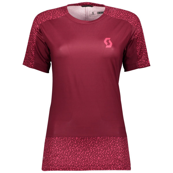 Scott Trail 20 s/sl Womens Shirt tibetan red