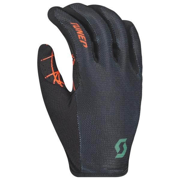 Scott Traction Handschuhe langfinger tangerin orange/dark ivy green
