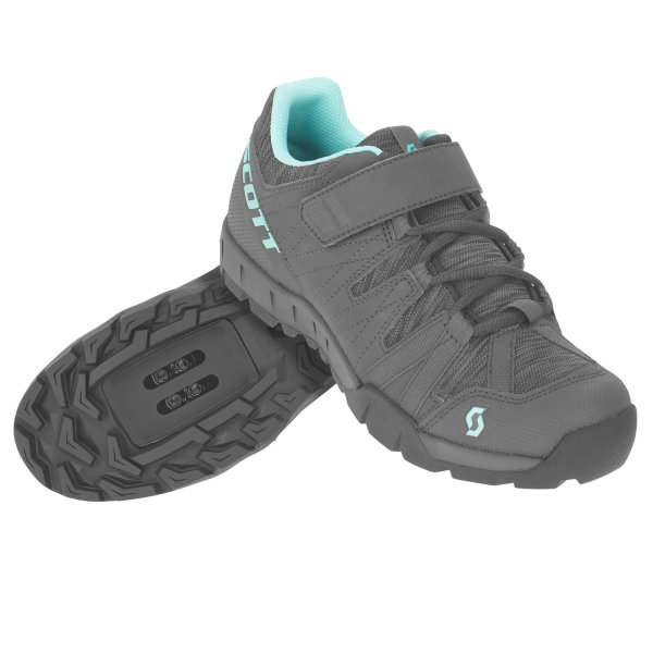 Scott Sport Trail Damen Schuh dark grey/turquoise blue
