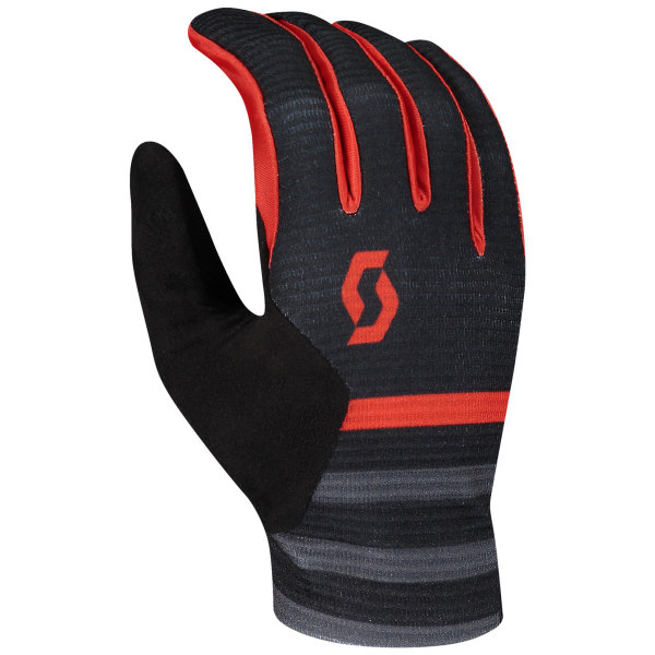 Scott Ridance Handschuh langfinger black/fiery red