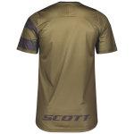 Scott Trail Vertic ZIP Shirt s/sl green moss