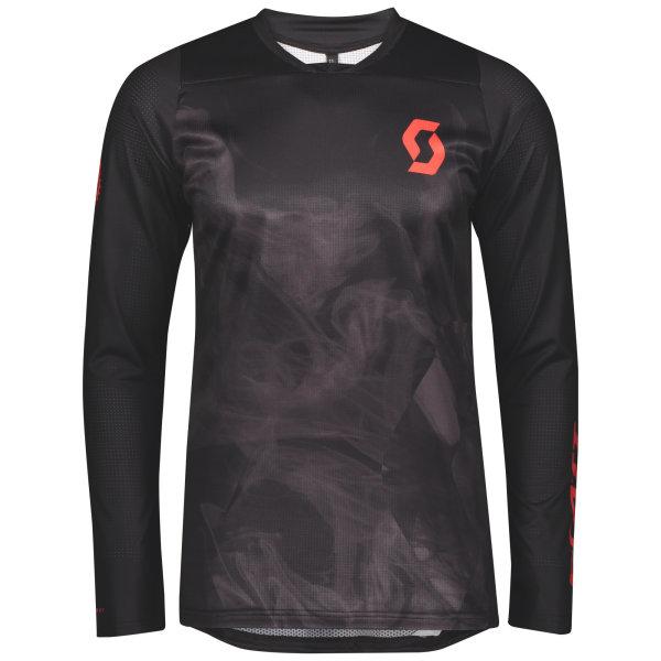 Scott Trail Progressive Shirt l/sl black