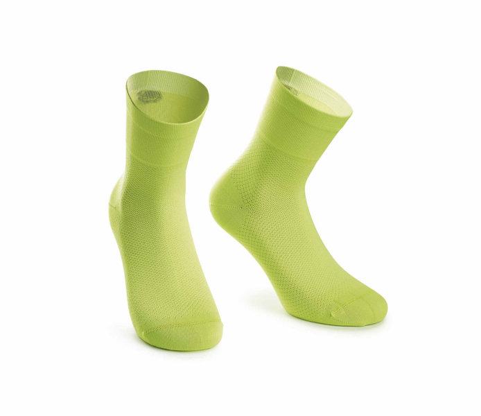 Assos Mille GT Socks visibilityGreen