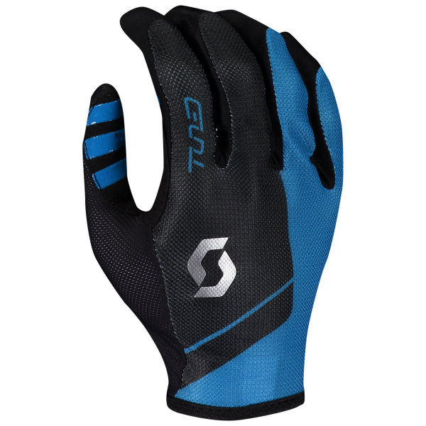 Scott Traction Tuned Handschuhe langfinger blue