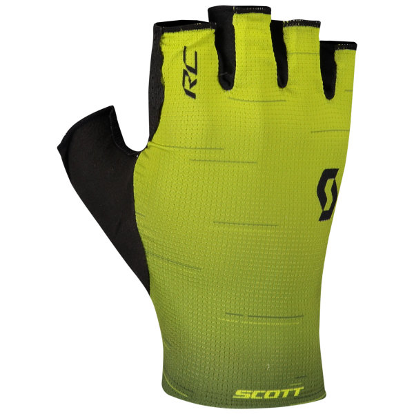 Scott RC Pro Handschuhe kurzfinger black/sulphur yellow