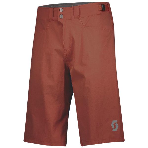 Scott Trail Flow Shorts mit Polster rust red