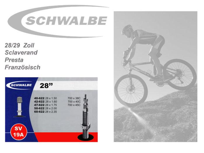 Schwalbe SV19A extra leicht Schlauch