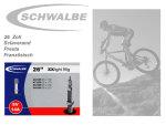 Schwalbe SV14A extra leicht Schlauch